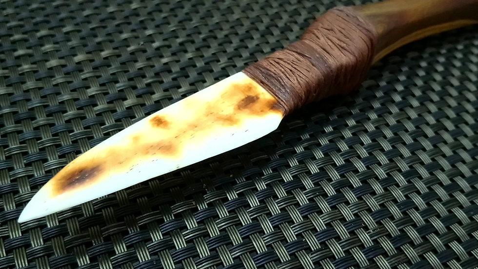 Hawk Claw Bone Knife
