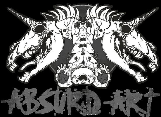 Logo Absurd ART ©Franziska Strodl,Absurd ART