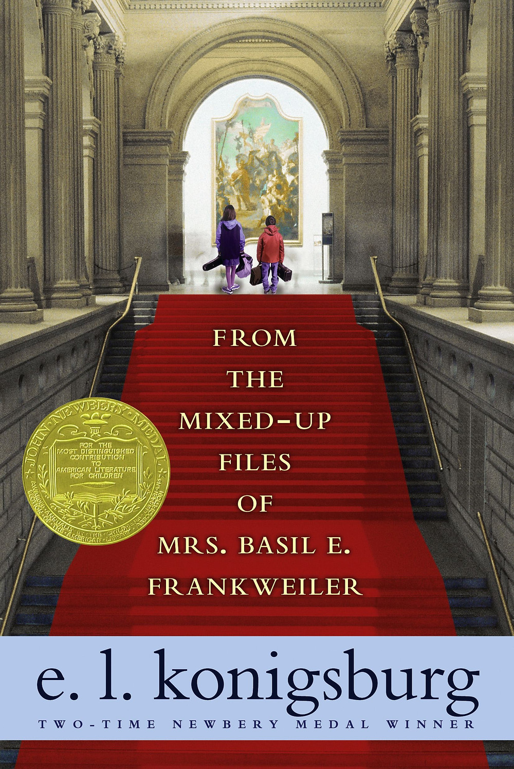 Mixed-Up Files cover konigsburg