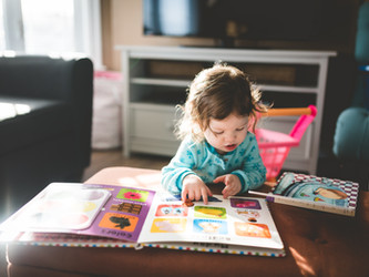 Can't Stop, Won't Stop: Reading with Active Toddlers