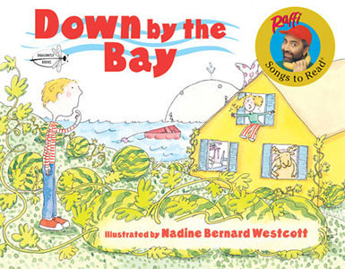Down by the Bay By Raffi, Illustrated by Nadine Bernard Westcott 1988