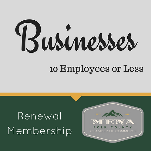 Business Mem. Renewal Under 10
