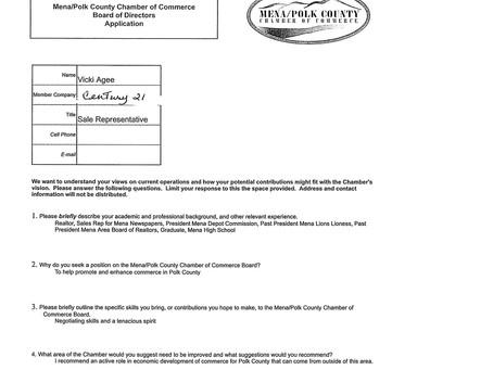 Board of Directors Nominations Applications