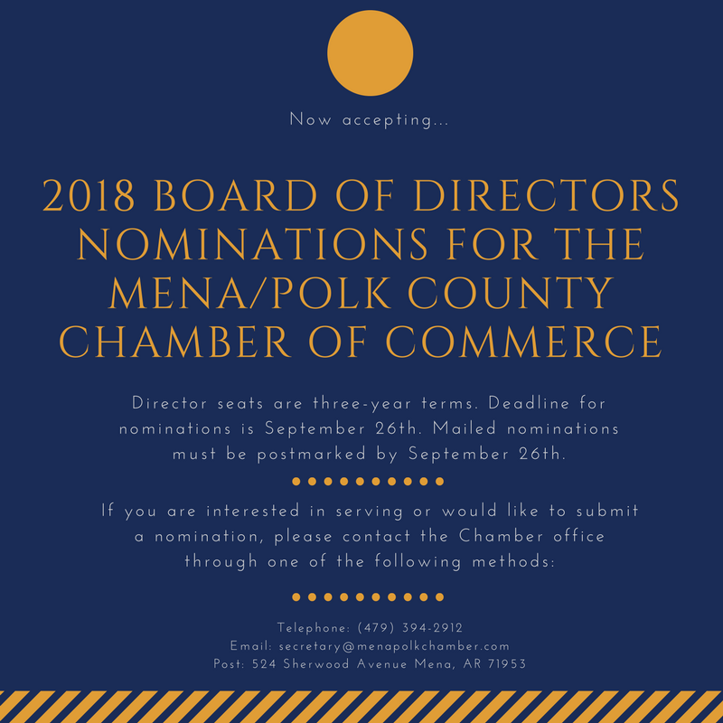 Nominations close September 26