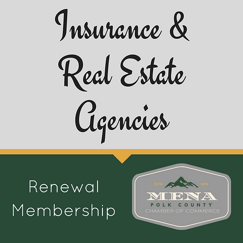 Insurance, Real-Estate Mem. Renewal