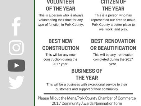 2017 Community Awards