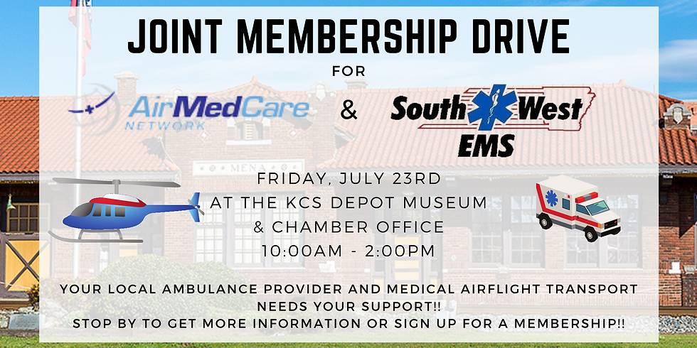 Joint Membership Drive for AirMedCare Network and Southwest EMS