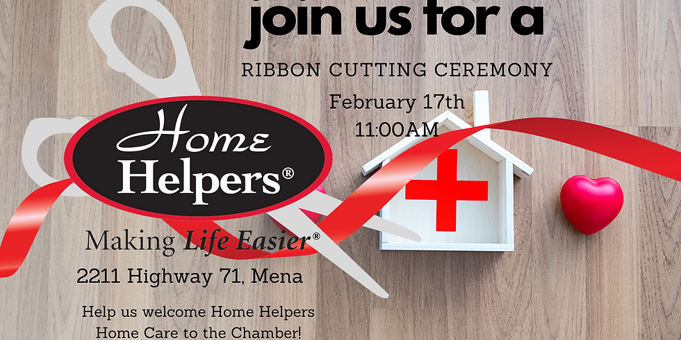 Ribbon Cutting for Home Helpers Home Care - Mena