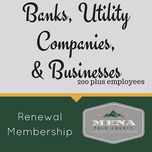 Bank, Utilities, 200+ Renewal