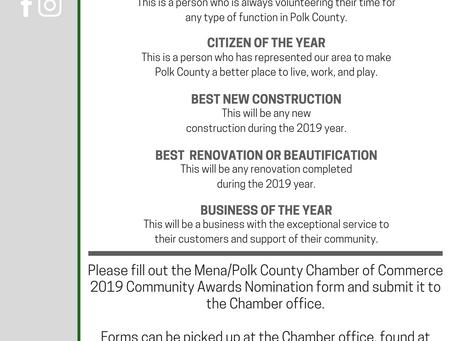 2019 Community Awards