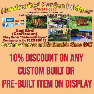 Handcrafted Garden Bridges