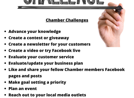 Chamber Challenges March 2020- 03