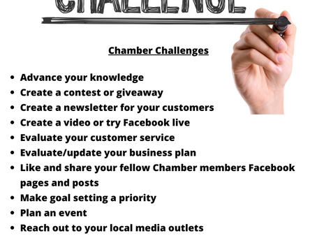 Chamber Challenges January 2020- 01
