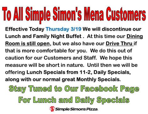 Simple Simon's Mena