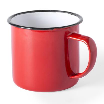 Tasse métal Rouge