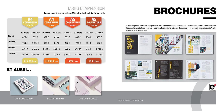 Catalogue E2COM / Brochures