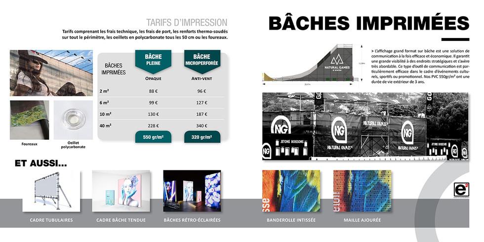 Catalogue E2COM / Bâches imprimées