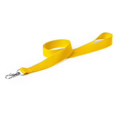 Lanyard jaune