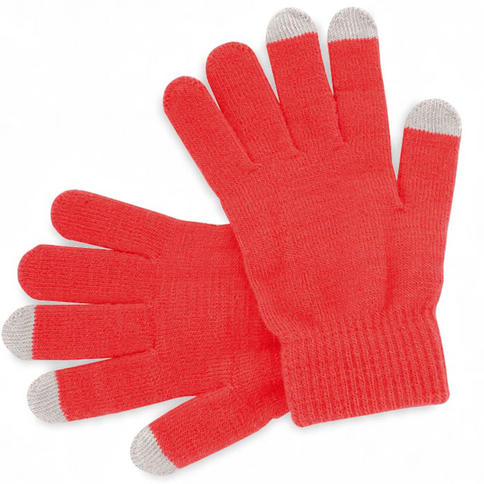 Gants rouges personalisables