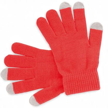 Gants rouges personalisables