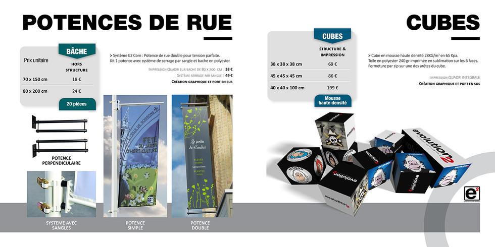 Catalogue E2COM / Cubes & Potences de rue