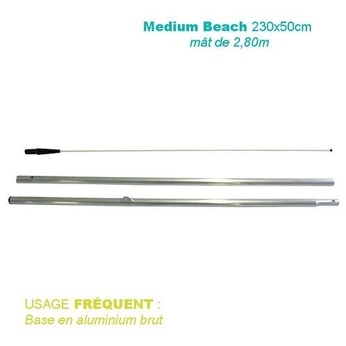 Mât aluminium pour Medium Beach
