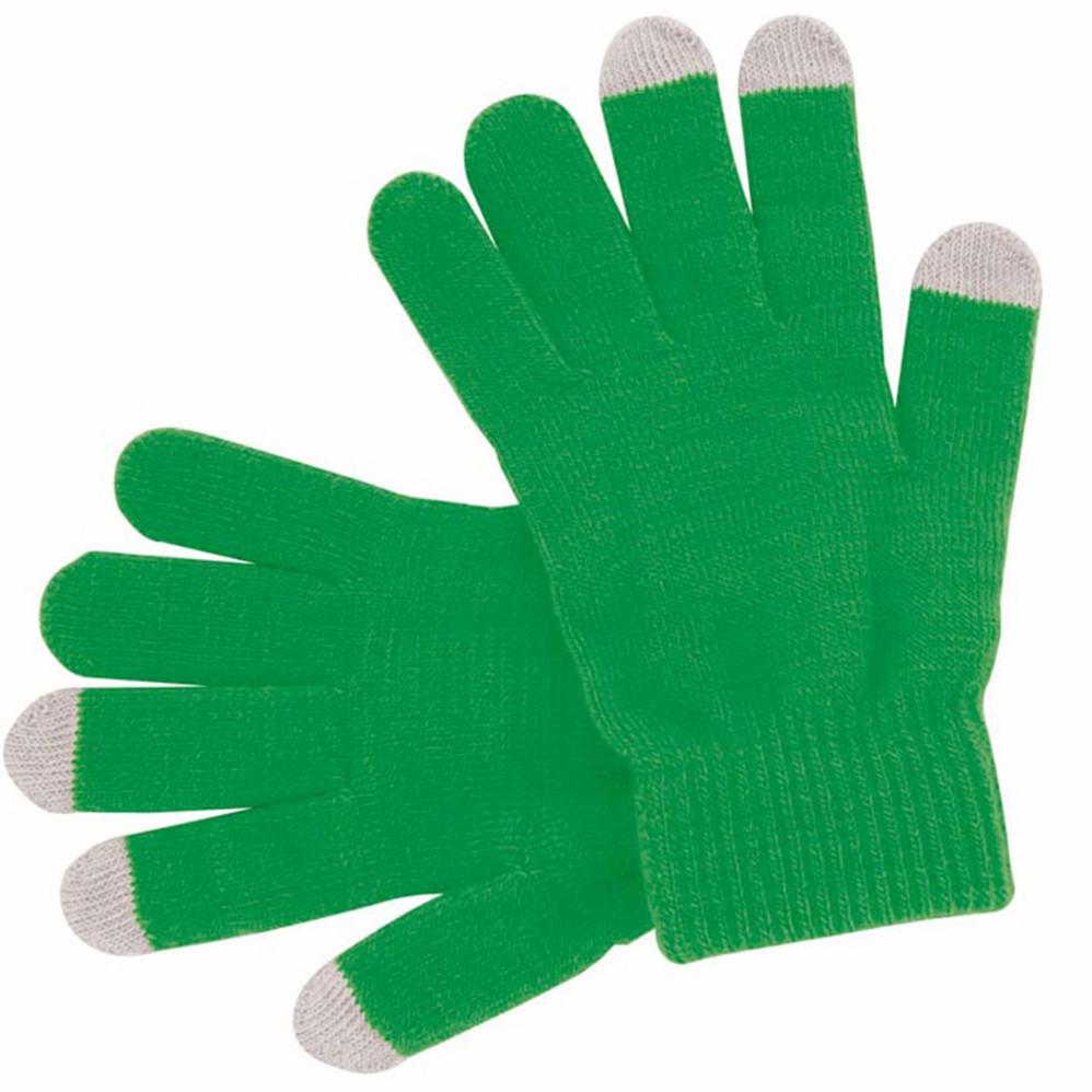 Gants verts personalisables