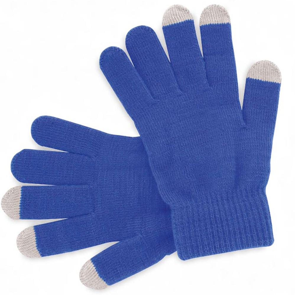 Gants bleus personalisables