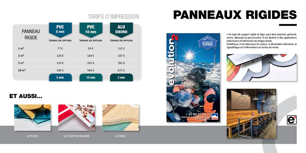 Catalogue E2COM / Panneaux rigides