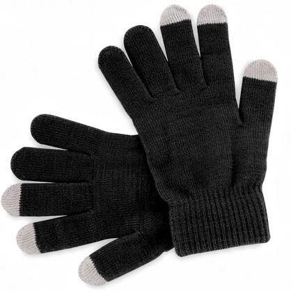 Gants noirs personalisables