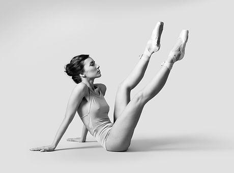 Ballet Dancer on Floor