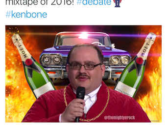 Eight of my favorite tweets from the second presidential debate