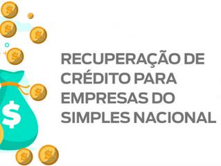 Recuperação de crédito tributário no Simples Nacional