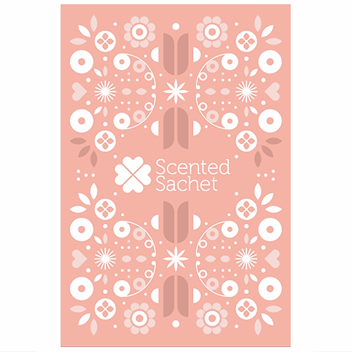 Scented Sachet |  Scandi Coral | Sweet Grace