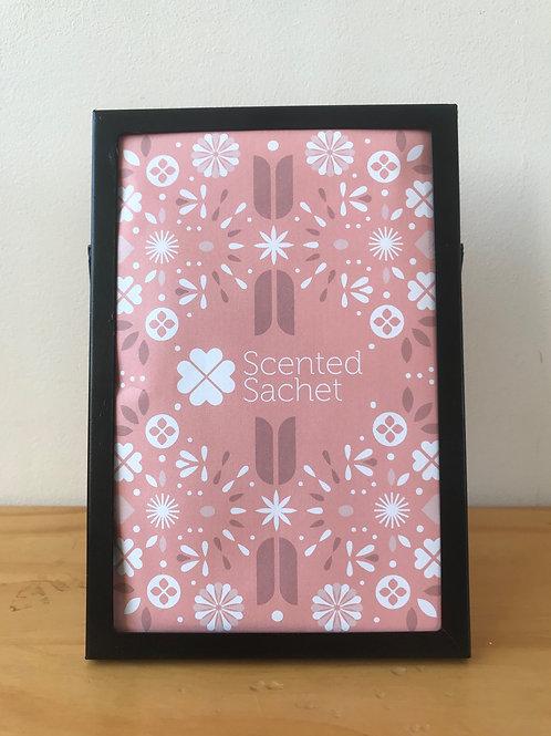 Scented Sachet Frame - Standing - Black (Not including sachet)