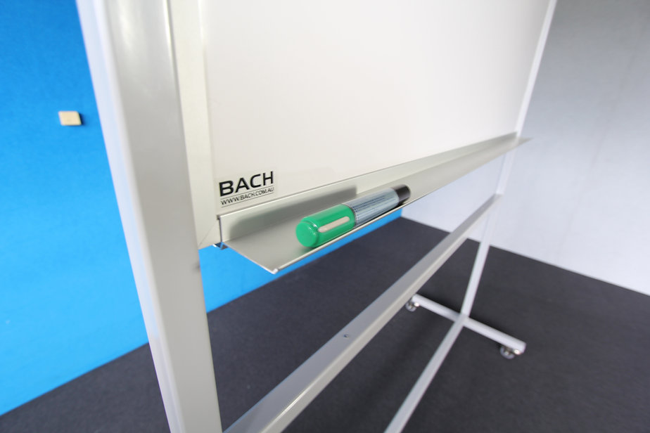 Mobile Magnetic Whiteboard With Pen Tray