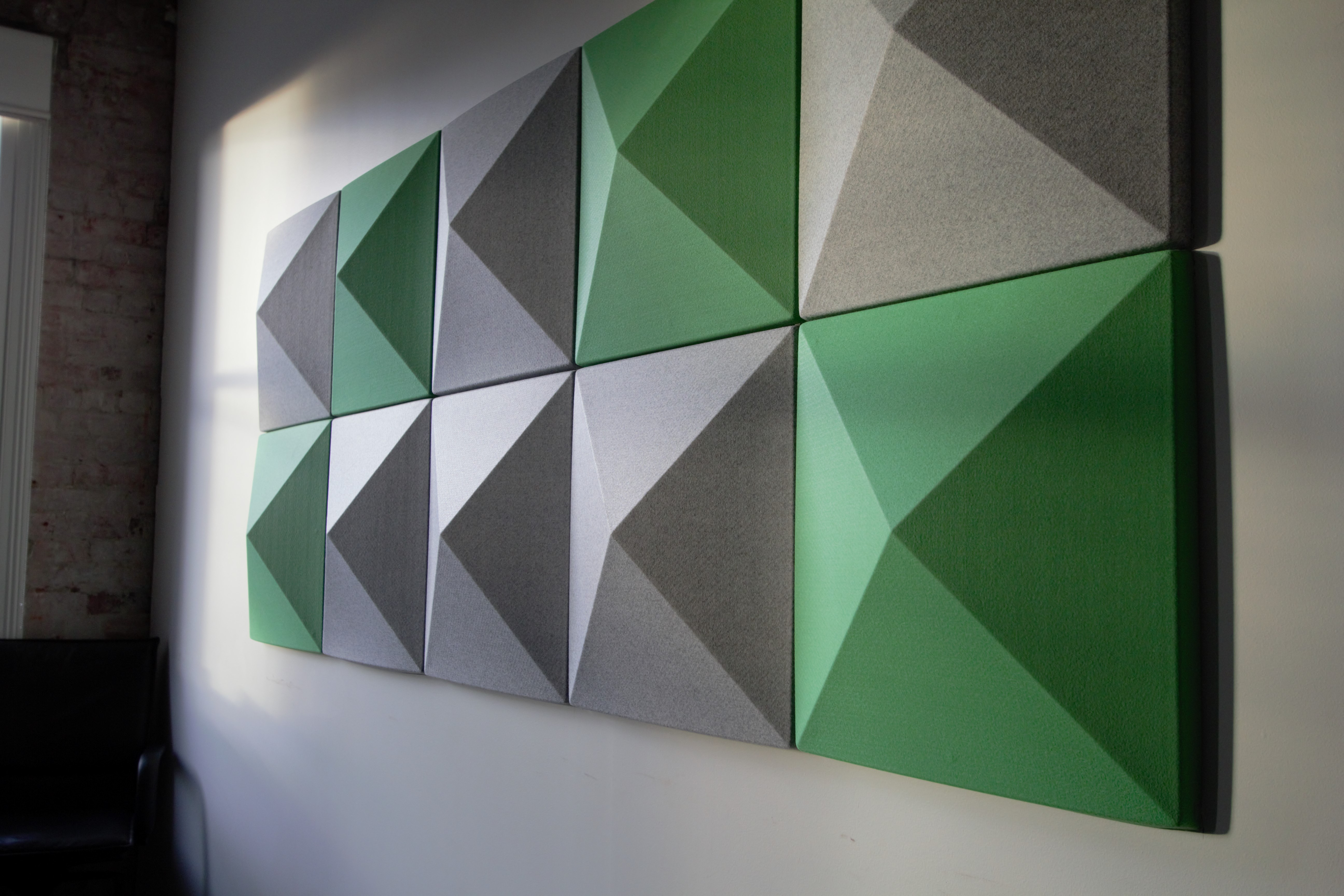 Kathmandu Office: Series 5 - 37 Acoustic 3D Wall Tiles