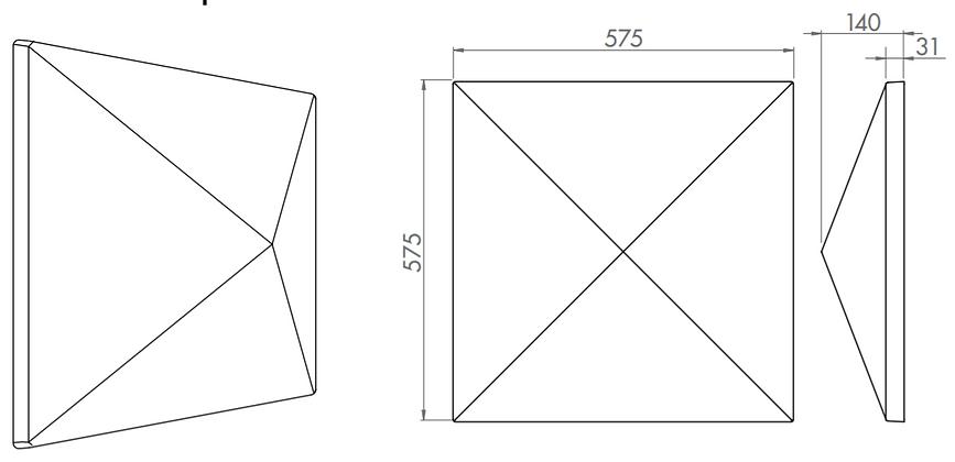 s5.37 3d acoustic tiles 3d acoustic ceil