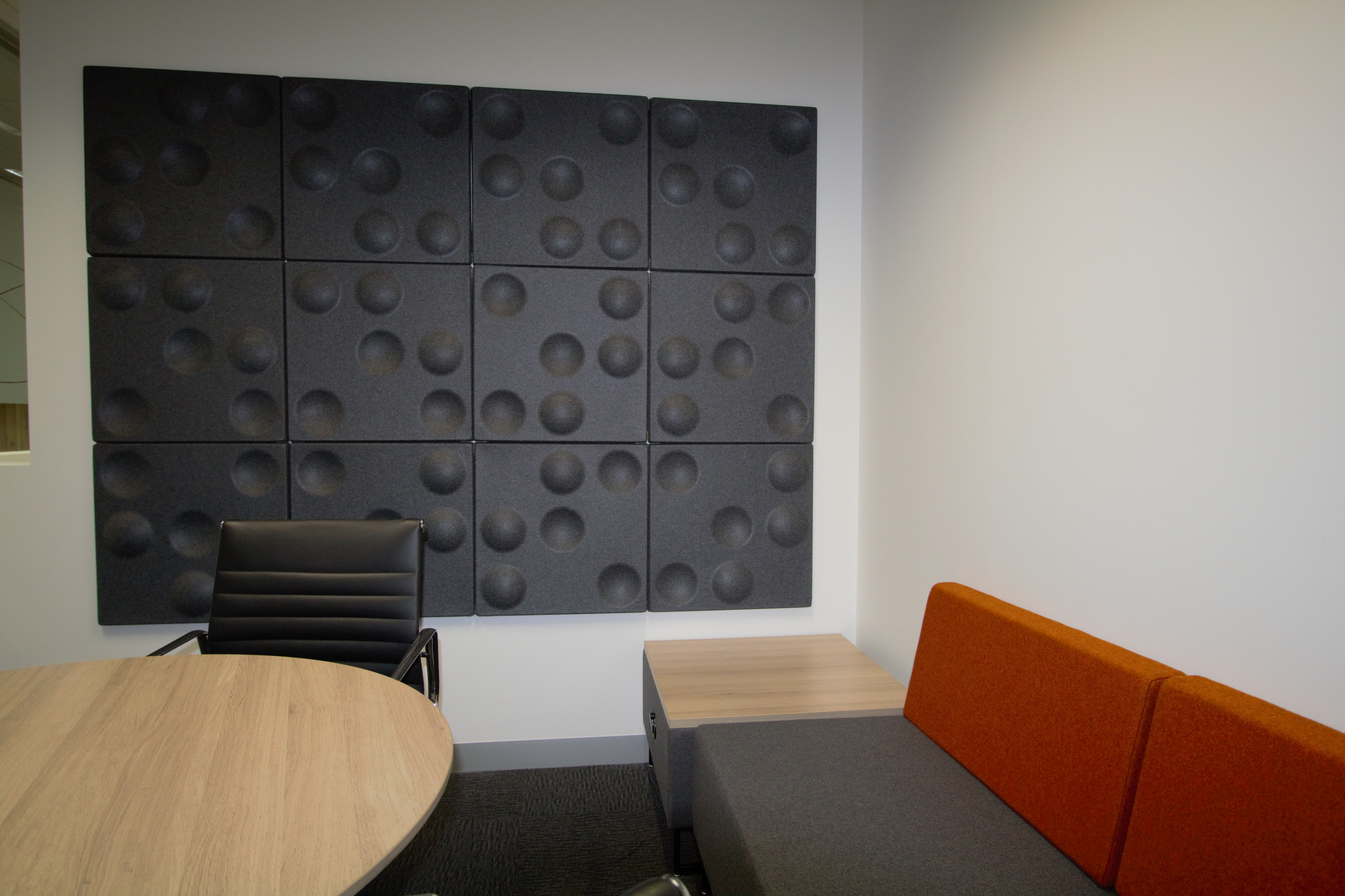 Shoretel Meeting Room: Series 5 - 34 Acoustic 3D Wall Tile