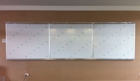 Horizontal Sliding Magnetic Whiteboard