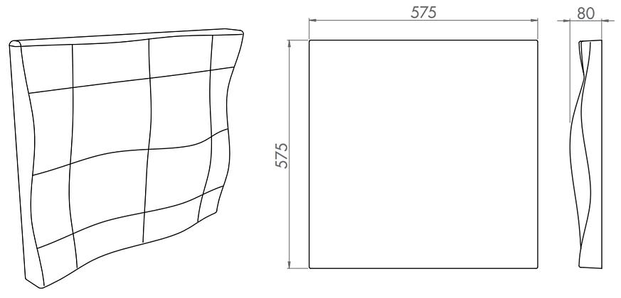 s5.26 3d acoustic tiles 3d acoustic ceil