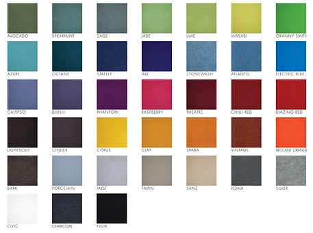 Bach Pinboard Colour Swatch