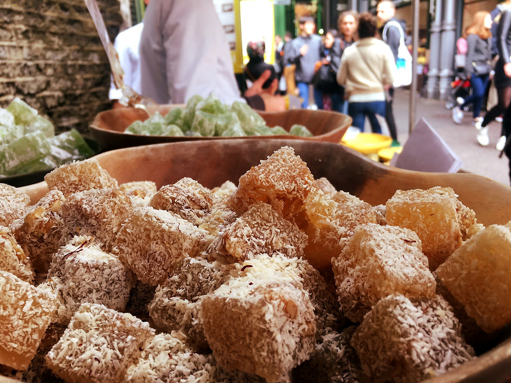 Turkish Delights at Borough Market London