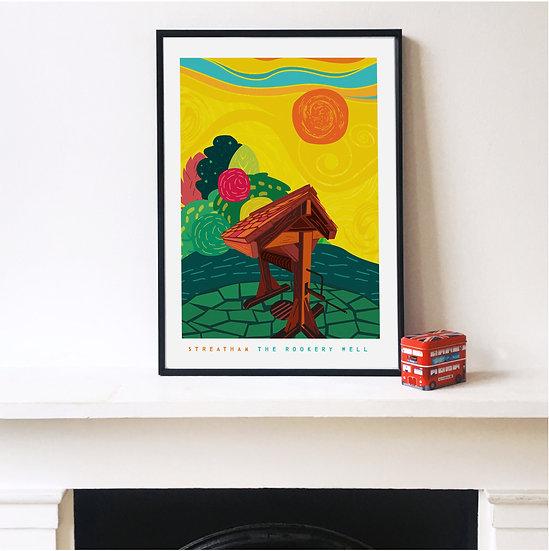 The Rookery Well Streatham Art Print