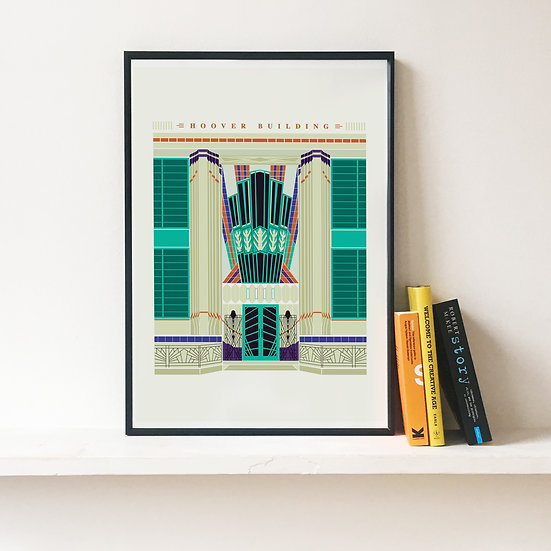 The Hoover Building Art Print