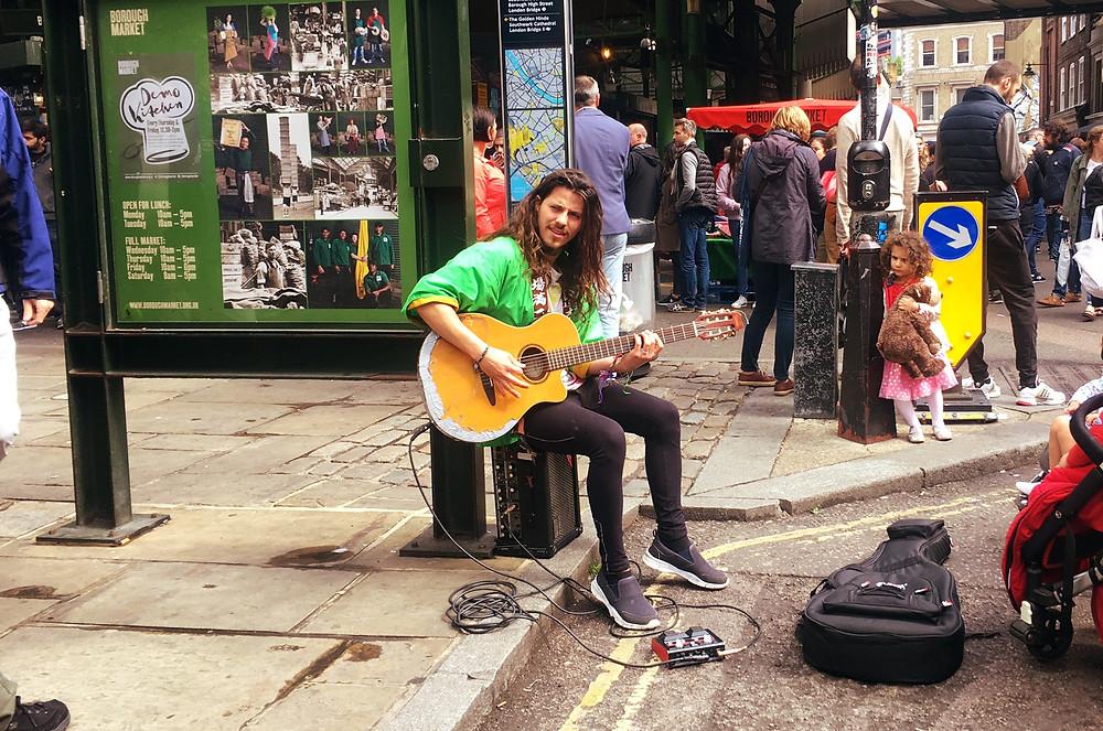 Busker London