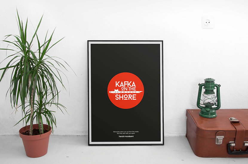 Kafka On the Shore Haruki Murakami Poster