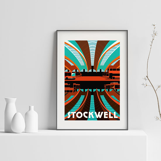 Stockwell London Art Print