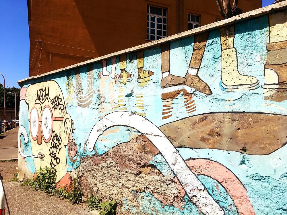 Street Art in Ostiense, Rome