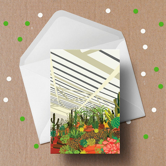 The Barbican Conservatory Christmas Card